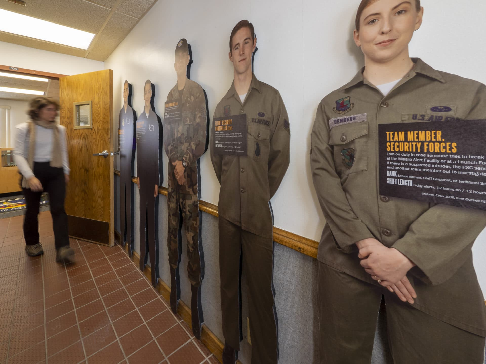 Personnel-Focused Exhibit at Quebec 01 Peacekeeper Site in Wyoming