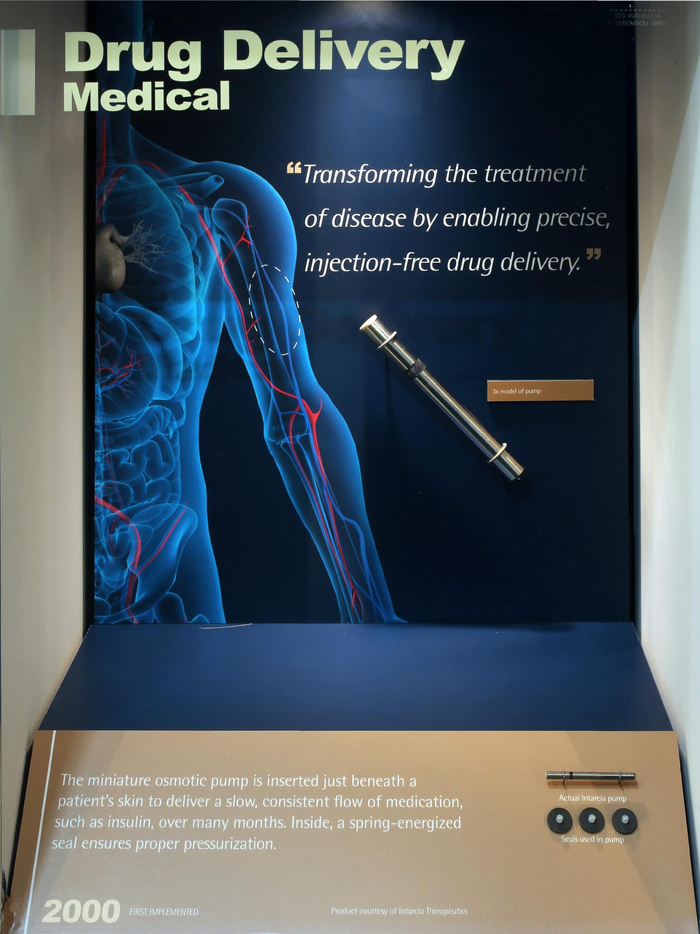 Medical Drug Delivery in Exhibit by Studio Tectonic