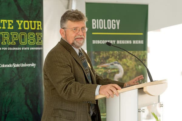 CSU Biology Building Opening Announced by Mike Antolin