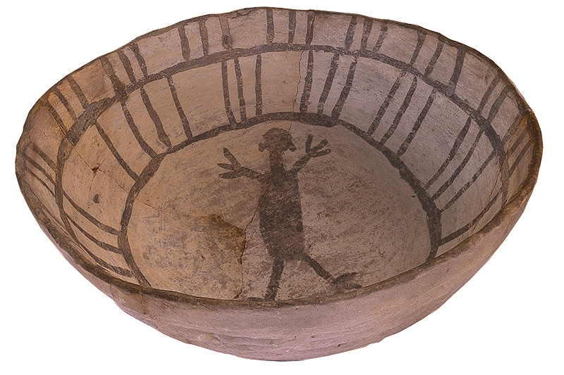 Painted Stone Bowl from Canyons of the Ancients Master Plan