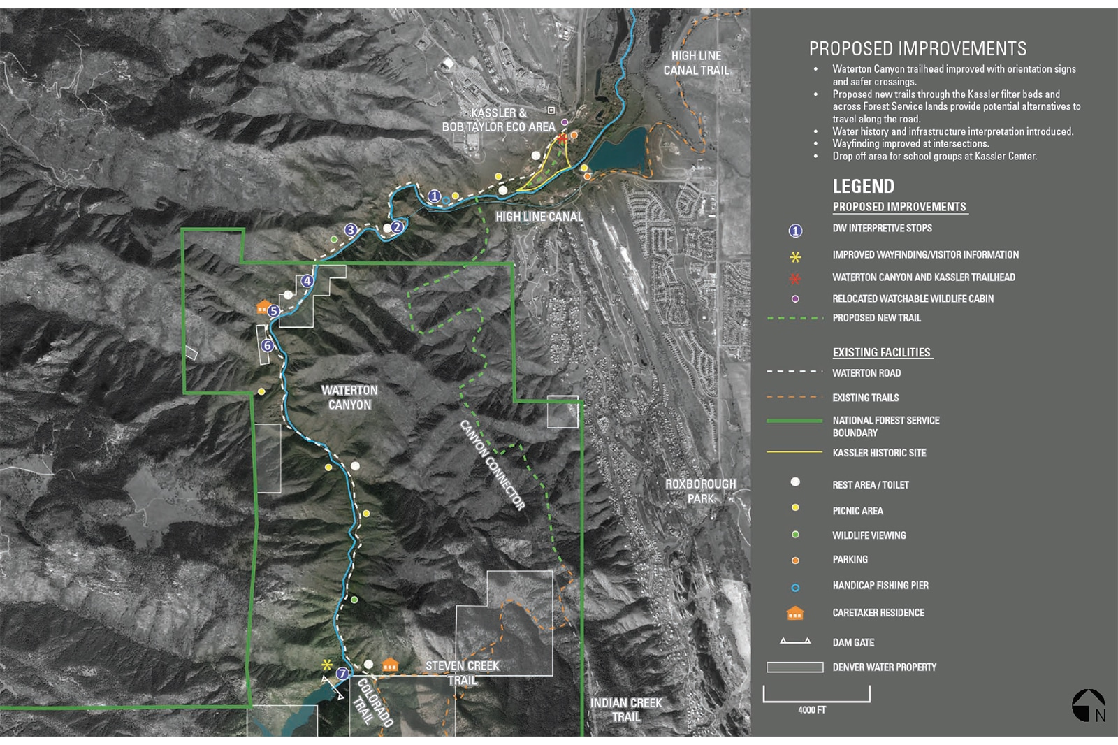 Kassler Waterton Denver Water Master Plan Map 2